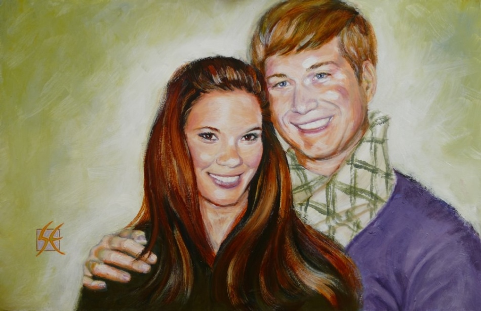custom portraits by Steve Eichenberger