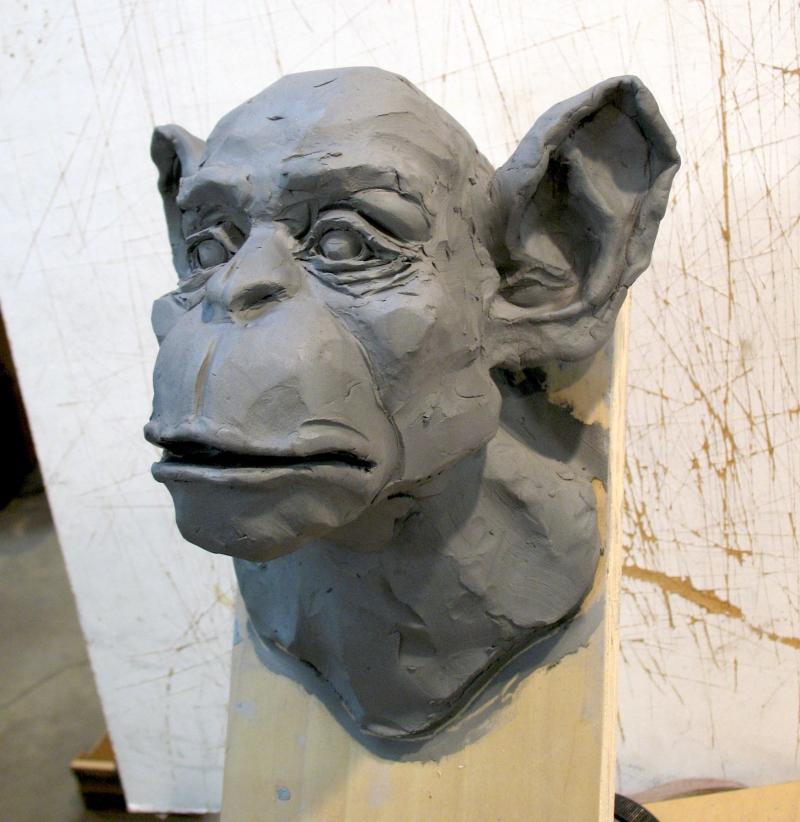 Steve Eichenberger wall sculpture in progress