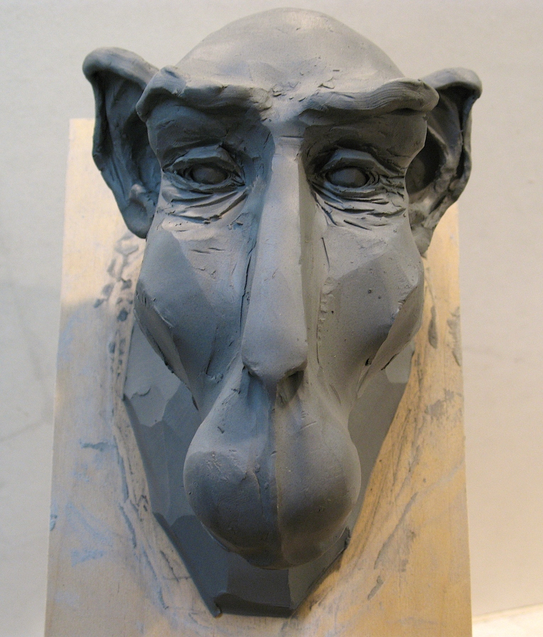 Steve Eichenberger sculpture WIP