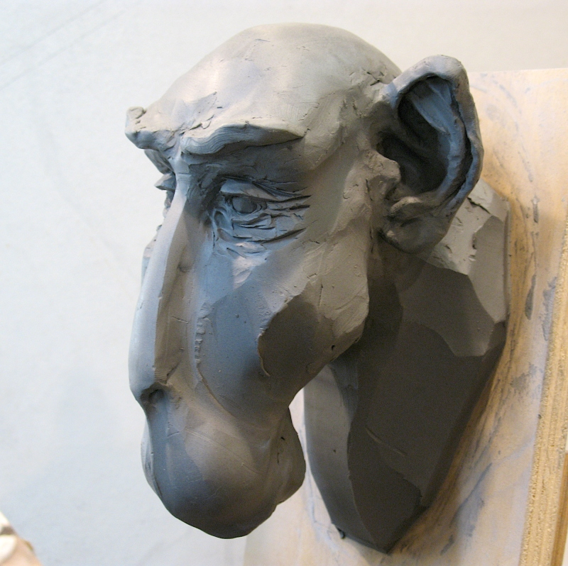 Steve Eichenberger sculpture WIP2